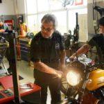 Scheinwerfer einstellen / adjust headlight / Regolazione fari