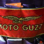 das Guzzideckchen darf natürlich nicht fehlen / the guzzi covering must not be missing /