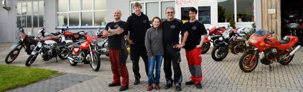 Ein starkes Team, Denni, Kevin, Silke, Martin und Rowell sind für Euch da.